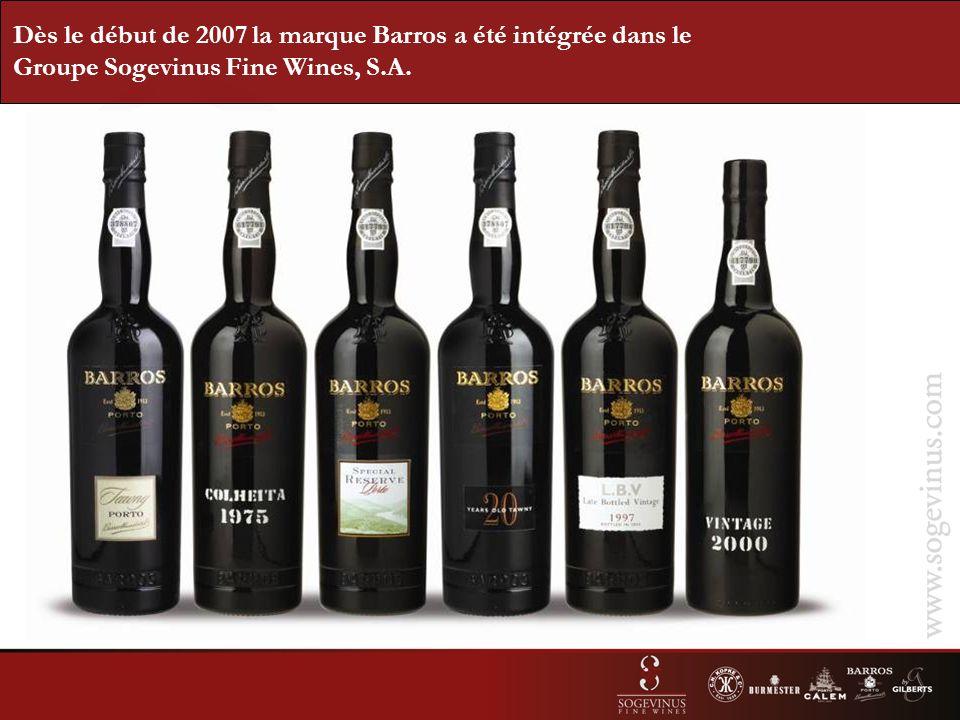 Porto Blanc: Extra-sec Demi-Sec Doux Vins Jeunes (3 ans au minimum) en fût et cuves inox.
