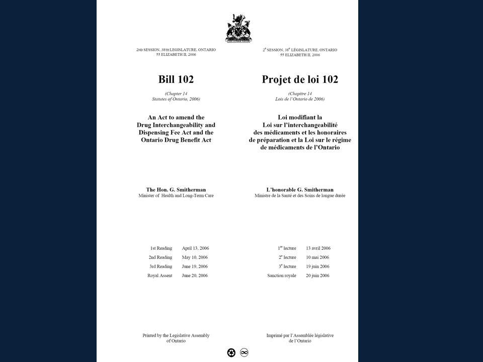 Conseil des citoyens (Ontario) Conseils des citoyens 1.5 Le ministre crée un Conseil des citoyens qui est chargé de veiller à ce que les patients participent à lélaboration de la politique relative aux produits pharmaceutiques et à la santé.