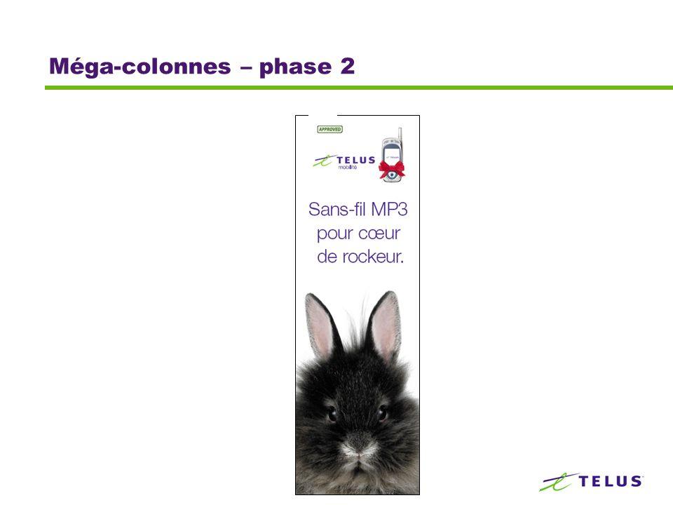 Méga-colonnes – phase 2