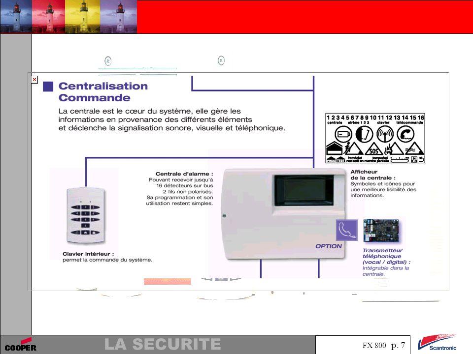 FX 800 p. 7 LA SECURITE
