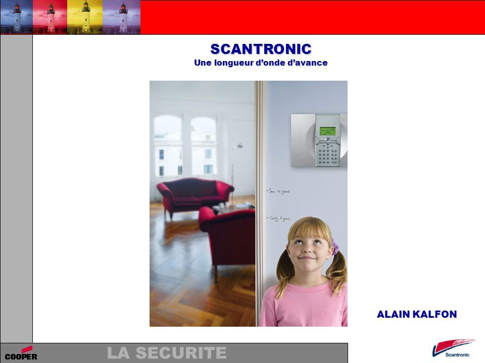 LA SECURITE SCANTRONIC Une longueur donde davance Cohérence des produits et des gammes 9752.