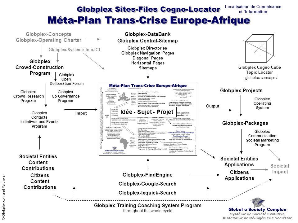 Méta-Plan Trans-Crise Europe-Afrique © Globplex.com and Partners.