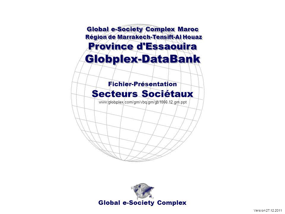 Global e-Society Complex Global e-Society Complex Maroc Région de Marrakech-Tensift-Al Houaz Province d'Essaouira Globplex-DataBank Global e-Society C