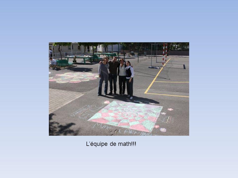 Léquipe de math!!!