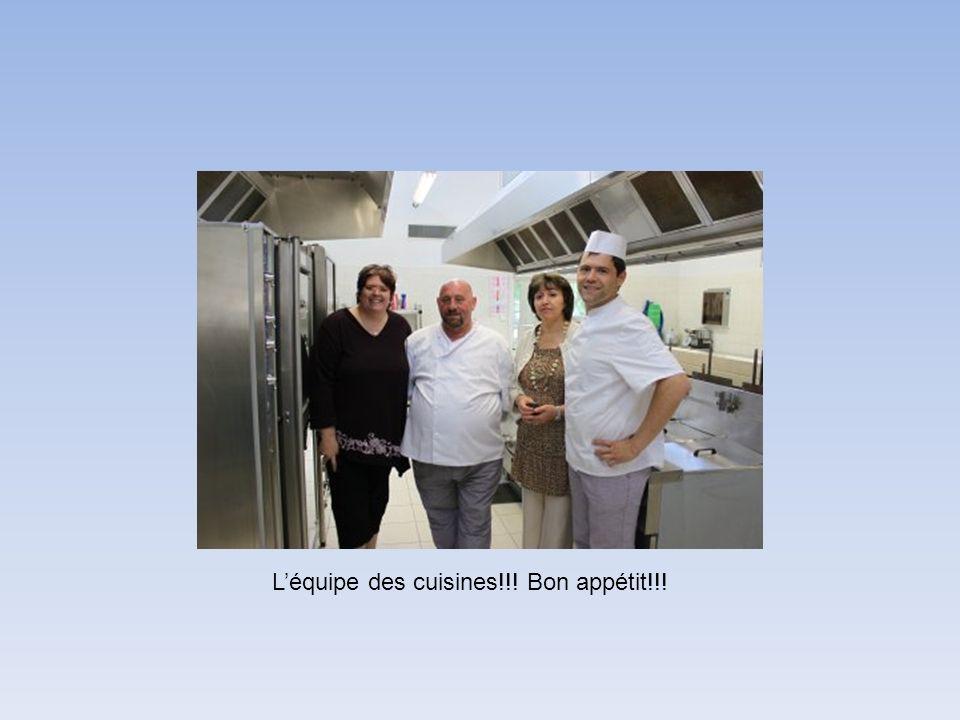 Léquipe des cuisines!!! Bon appétit!!!