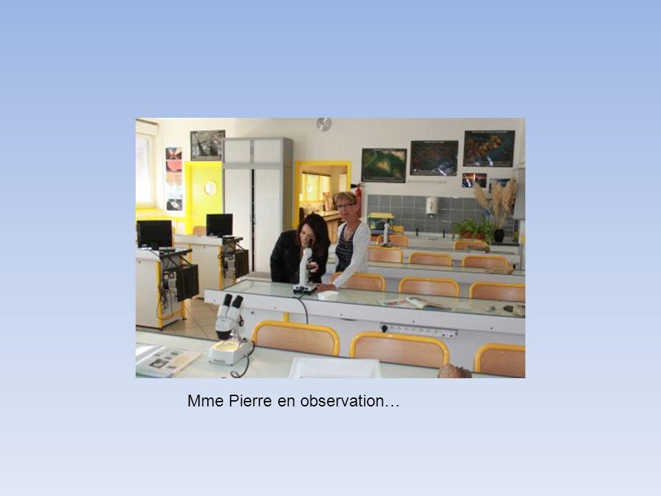 Mme Pierre en observation…