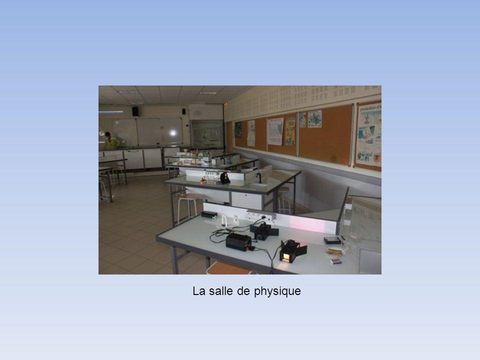 La salle de physique