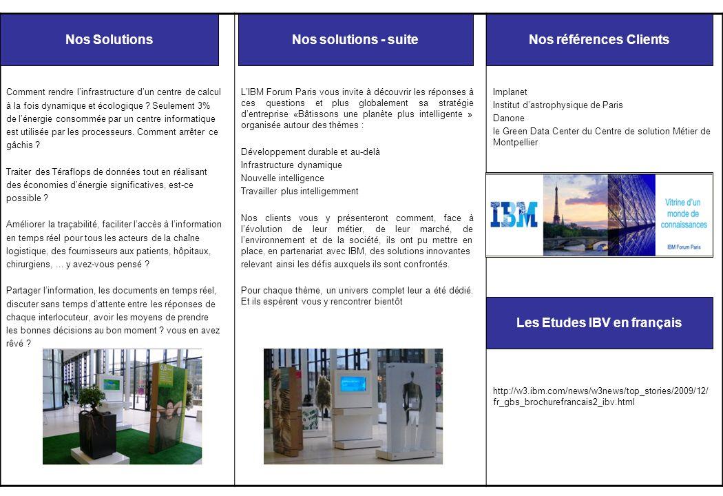 Léquipement de nos salles Toutes les salles de lIBM Forum Paris sont équipées dun vidéo-projecteur et sur demande nous pouvons installer un système audio ou vidéo conférence (demande à faire lors de votre réservation).