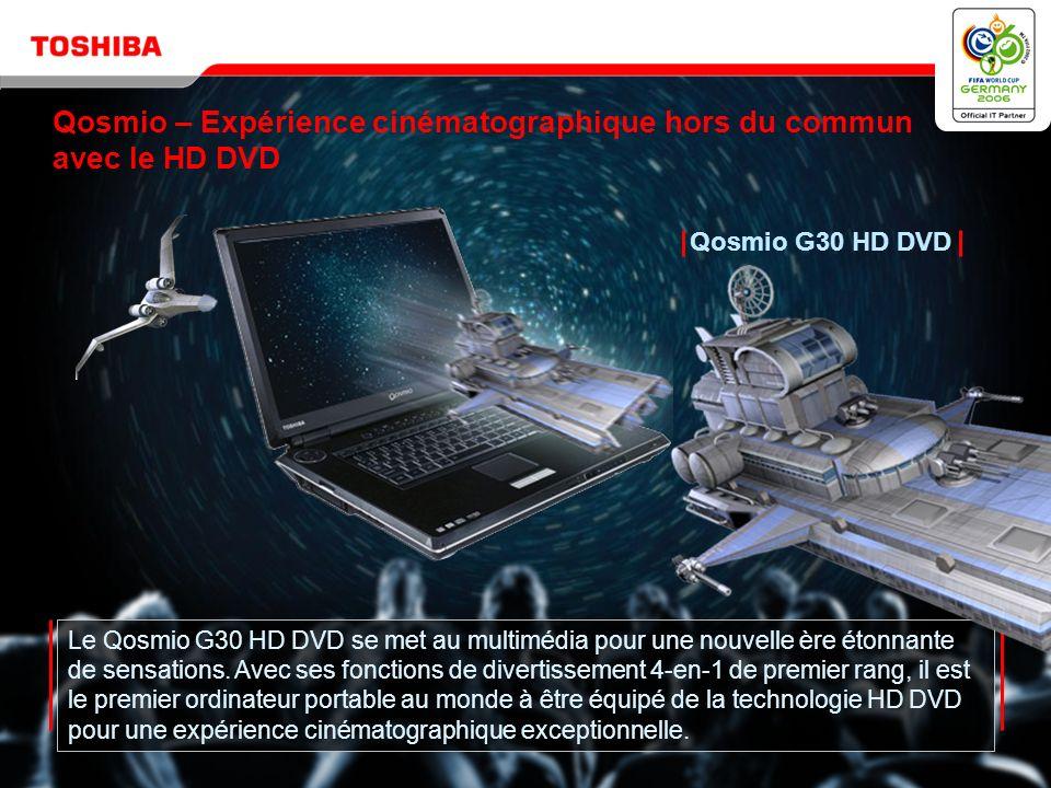 Copyright © 2006 Toshiba Corporation. Tous droits réservés. Qosmio G30 HD DVD
