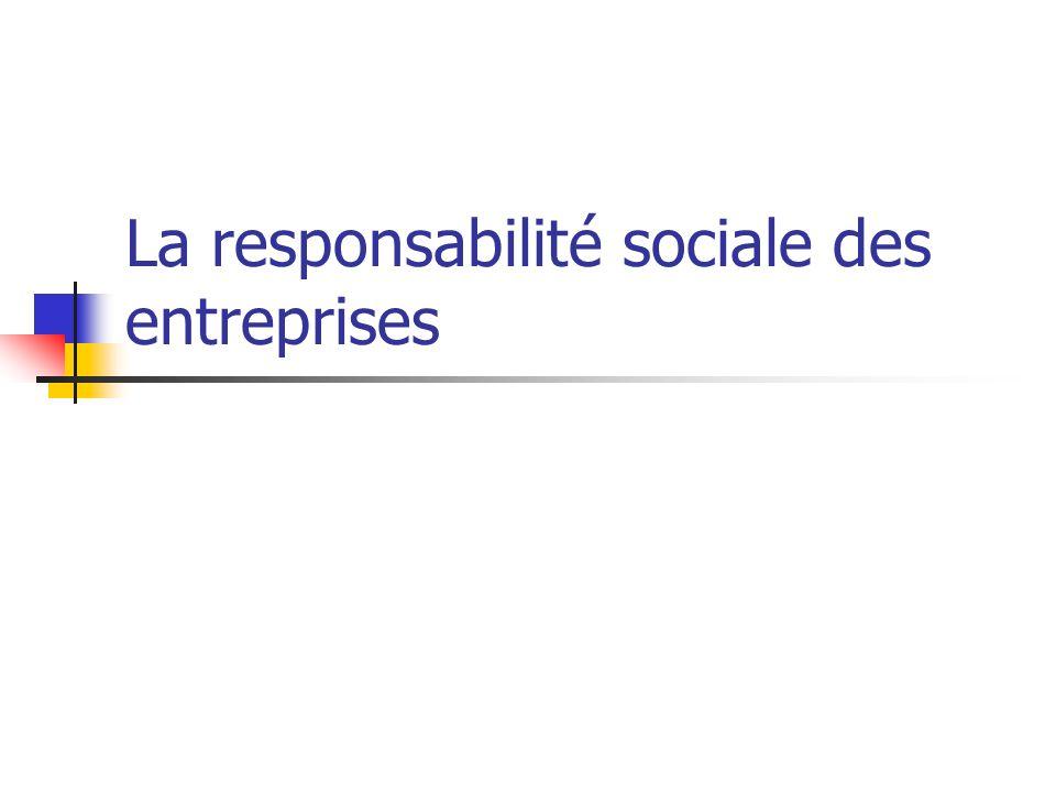L inclusion d intérêt public dans la gestion de lentreprise Exemple: Petrom/OMV Responsabilite sociale: « OMV vise d être un employeur juste et responsable et un lieu de travail attrayant.