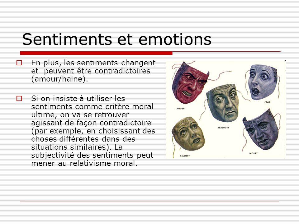 Sentiments et emotions Pourquoi avons-nous des règles contre le népotisme et les conflits d intérêt.