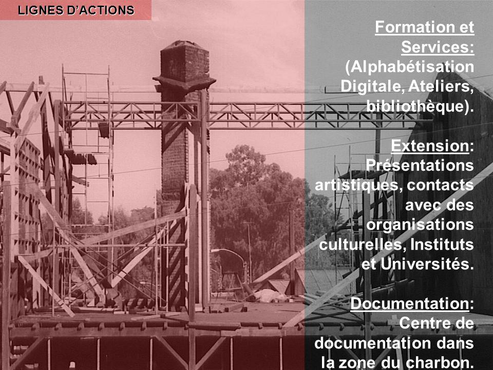LIGNES DACTIONS Formation et Services: (Alphabétisation Digitale, Ateliers, bibliothèque).