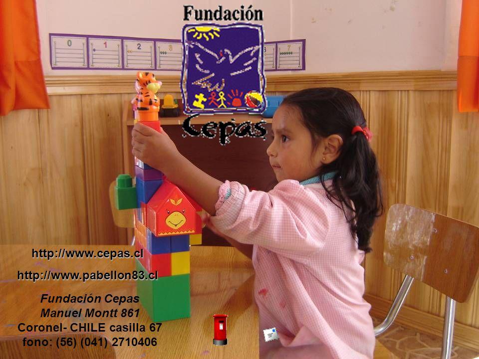 http://www.cepas.clhttp://www.pabellon83.cl Fundación Cepas Manuel Montt 861 Coronel- CHILE casilla 67 fono: (56) (041) 2710406