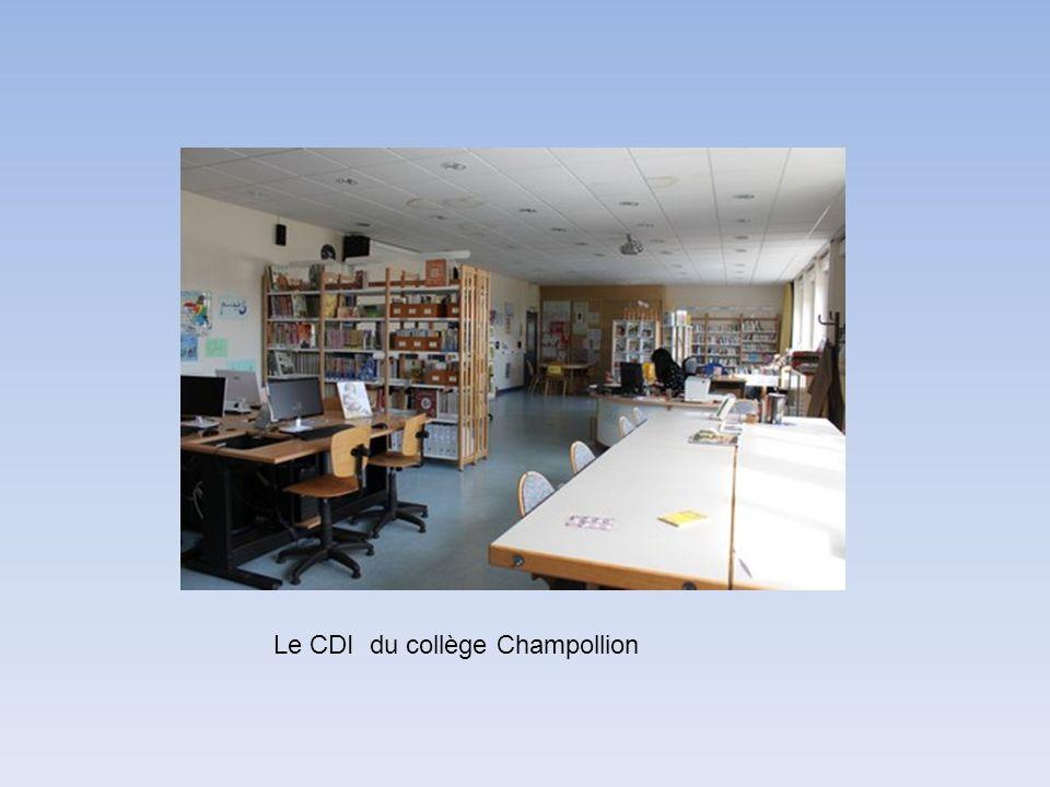 Le CDI du collège Champollion