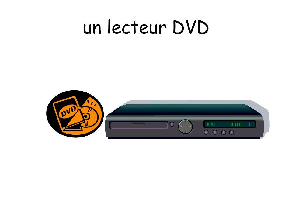 un lecteur DVD