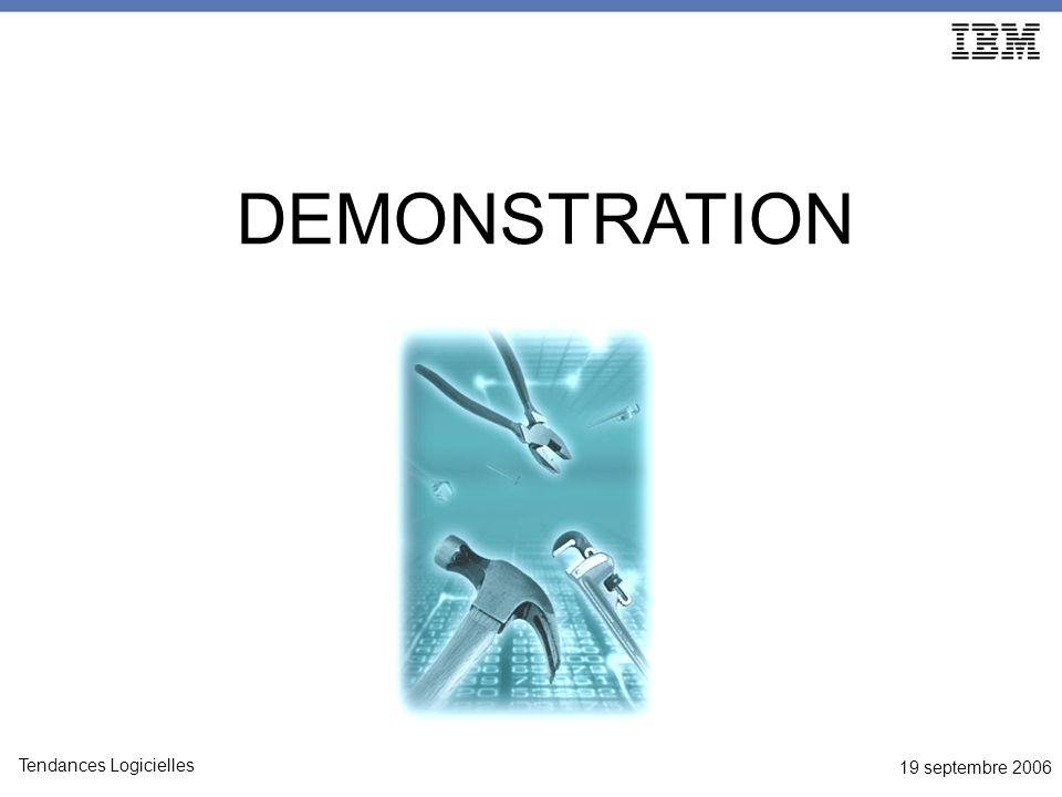 19 septembre 2006 Tendances Logicielles DEMONSTRATION