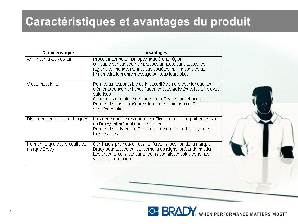 Caractéristiques et avantages du produit 4