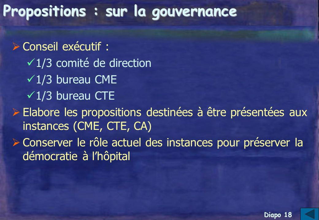 Diapo 17 Les propositions