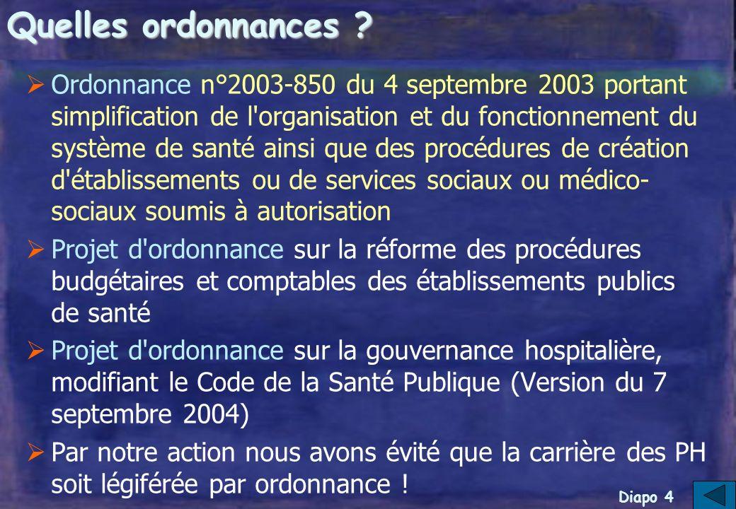 Diapo 3 Pourquoi légiférer par ordonnance .