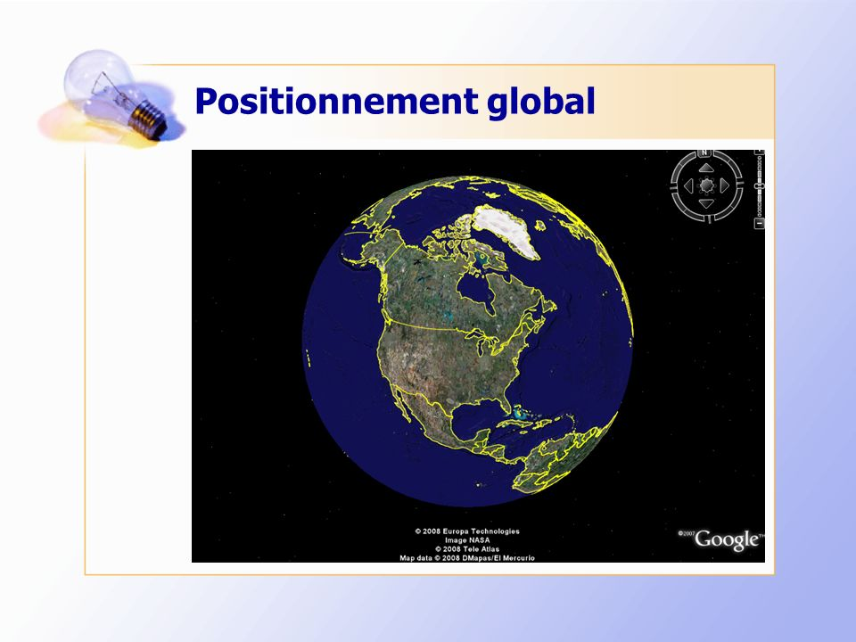 Positionnement global