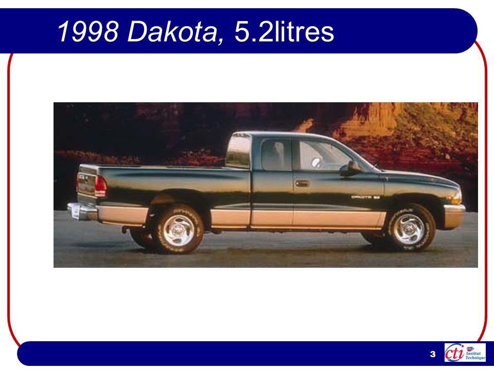 3 1998 Dakota, 5.2litres