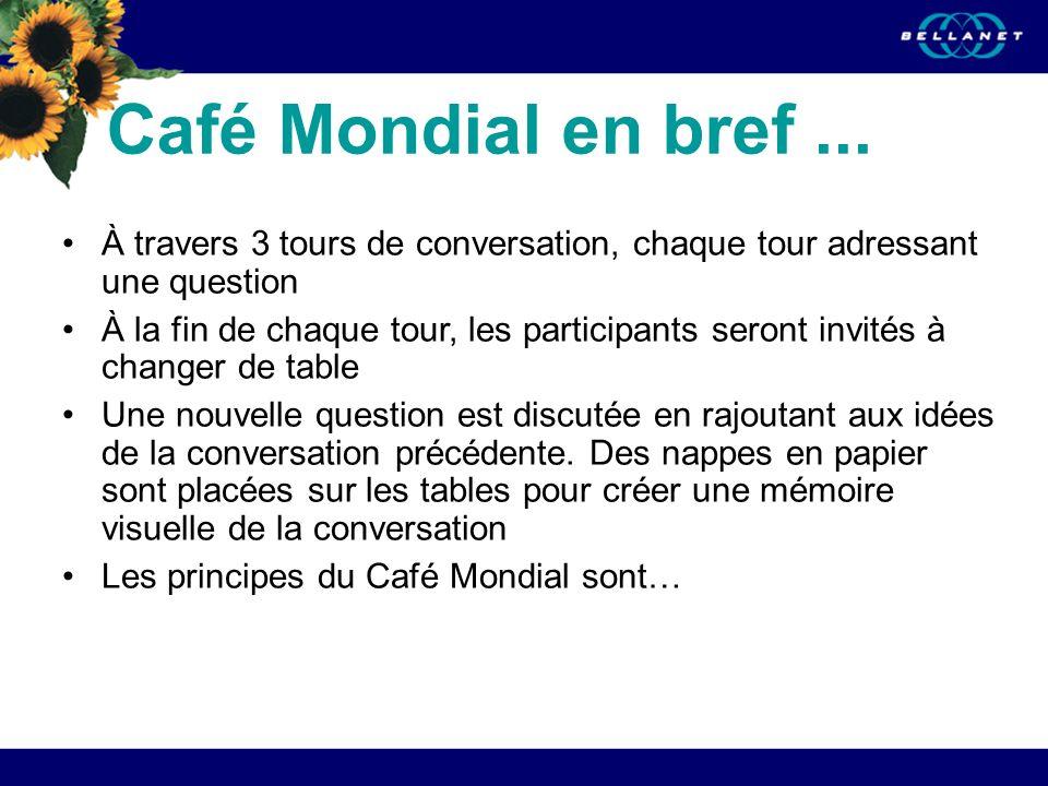 Café Mondial en bref...