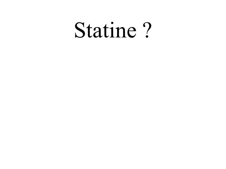 Statine ?