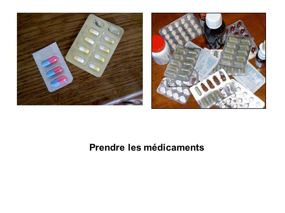 Prendre les médicaments
