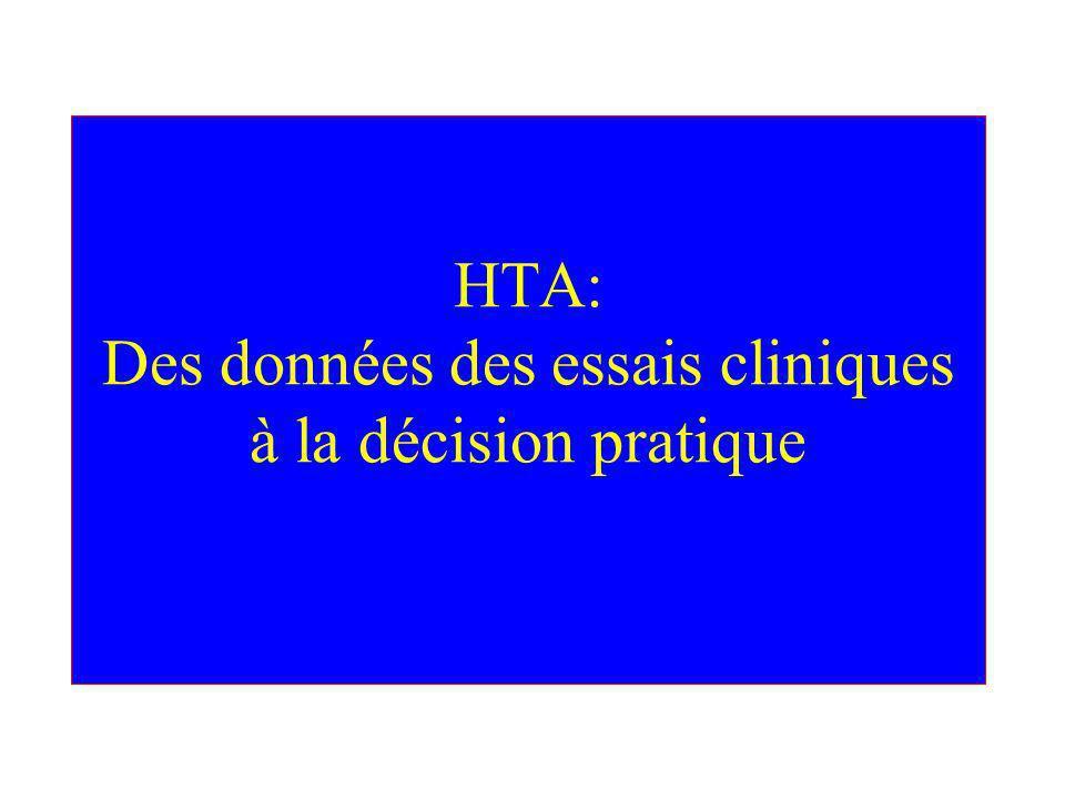 Les différentes situations (7) HTA et risque élevé de coronaropathie Médicaments recommandés: –Béta-bloquants –IEC –ARA II –IC –Diurétiques Etudes ALLHAT, HOPE,PROGRESS, ANBP2, LIFE, CONVINCE