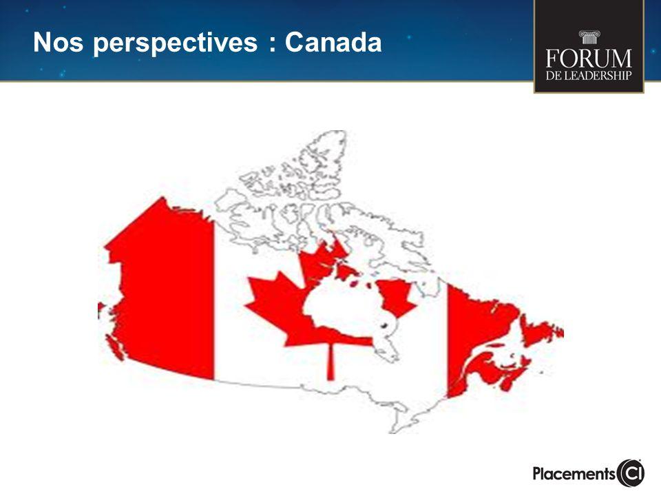 Nos perspectives : Canada