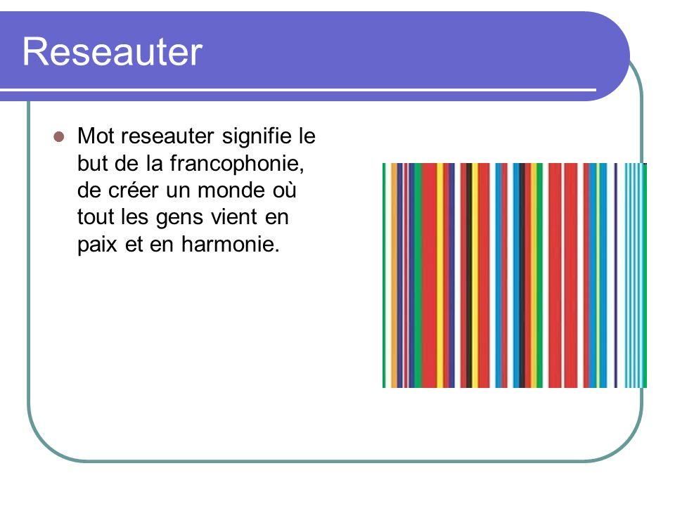 Choer Tous les pays francophones chantes le français comme un chœur.
