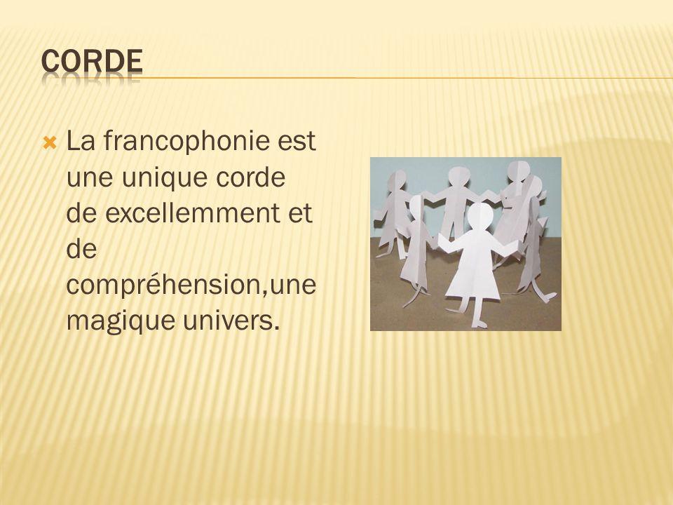 Les pays francophones participe à une agape abondante de bonheur tous les jours.