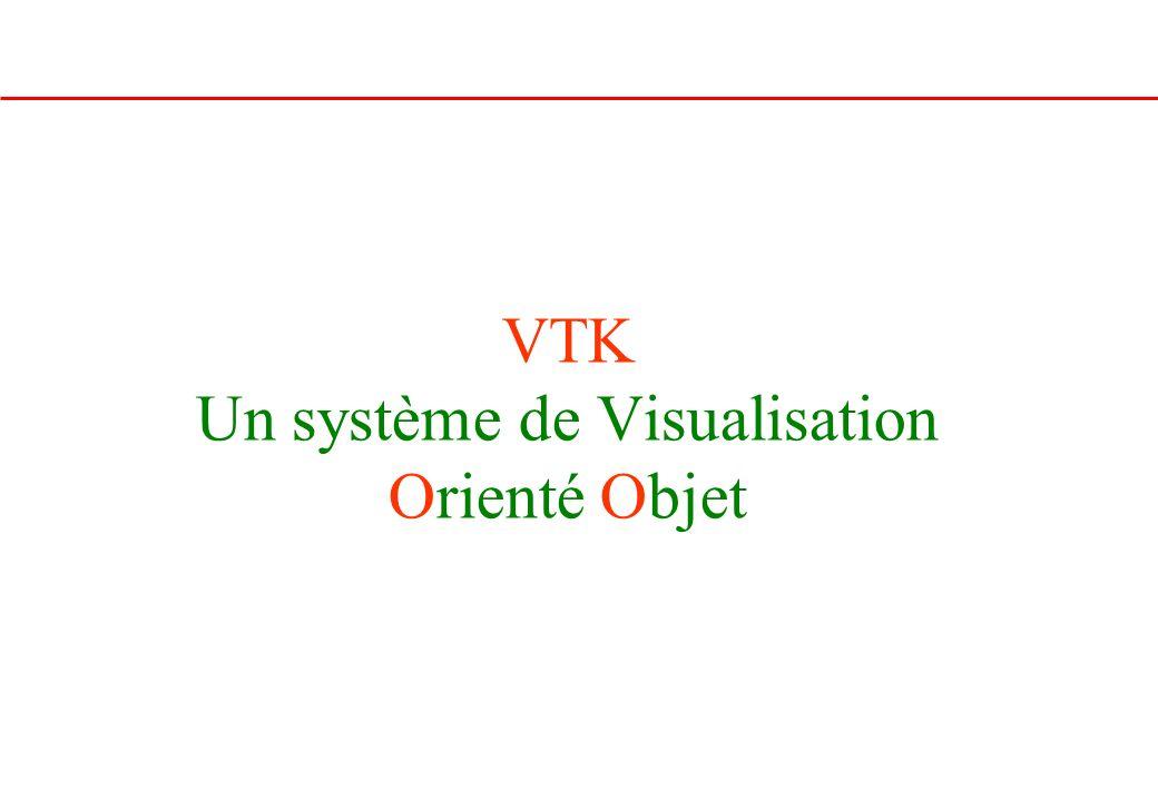 VTK Un système de Visualisation Orienté Objet