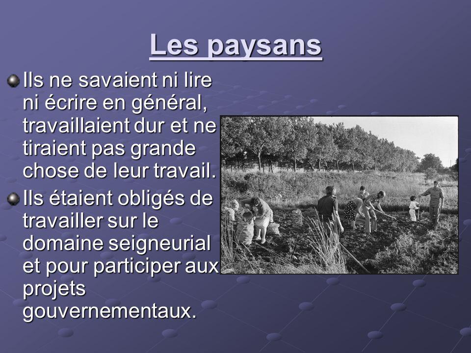 La vie urbaine Dans les années 1700, Paris était de loin la plus grande ville en France 600,000 personnes.