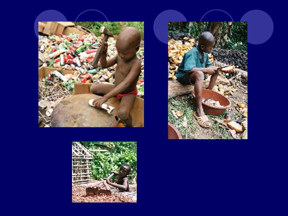Côte-d Ivoire seule a jusqu à 15.000 enfants qui travaillent dans les plantations du pays