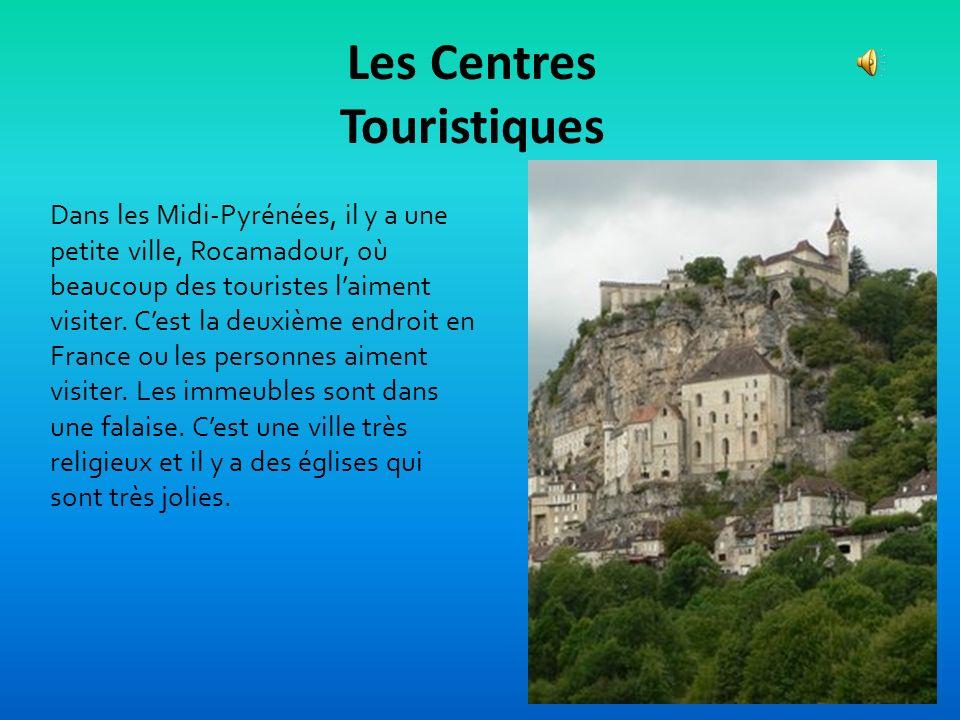 Le Tourisme Les Midi-Pyrénées a beaucoup d'héritage culturelle de histoire et culinaire. Lourdes est lendroit le plus important de la pilgrimage Chris