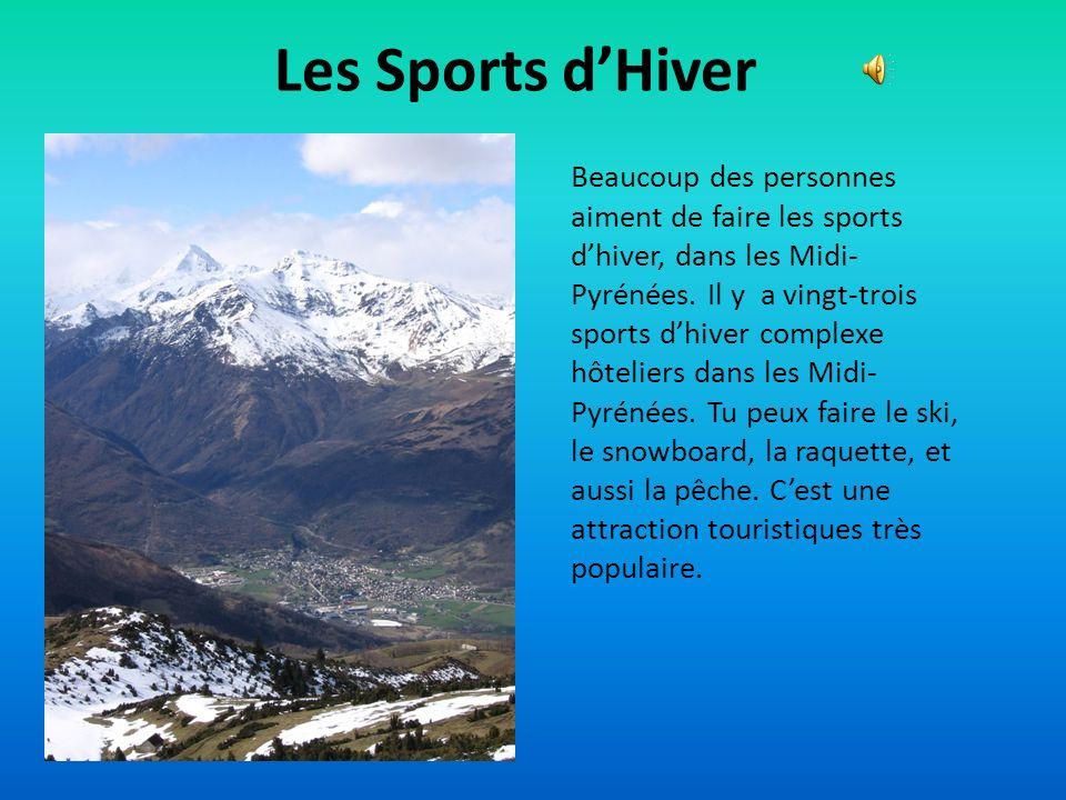 Les Centres Touristiques Dans les Midi-Pyrénées, il y a une petite ville, Rocamadour, où beaucoup des touristes laiment visiter. Cest la deuxième endr