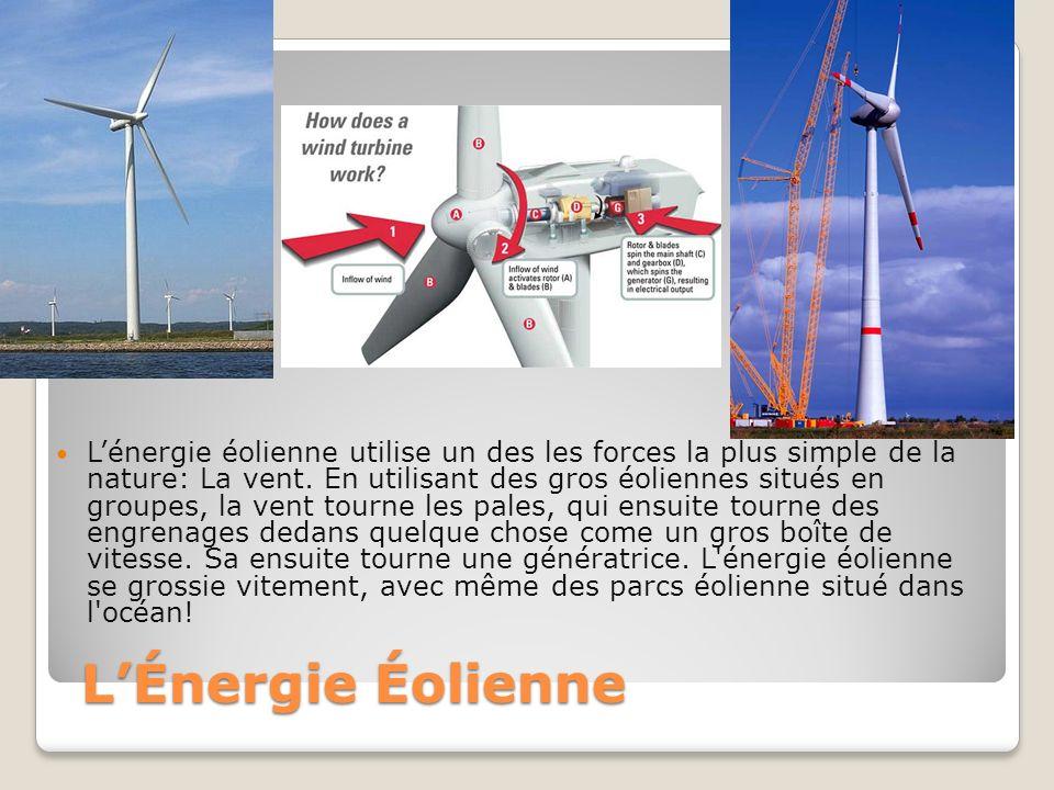 L énergie hydraulique est déjà commun dans la monde dans beaucoup de pays.