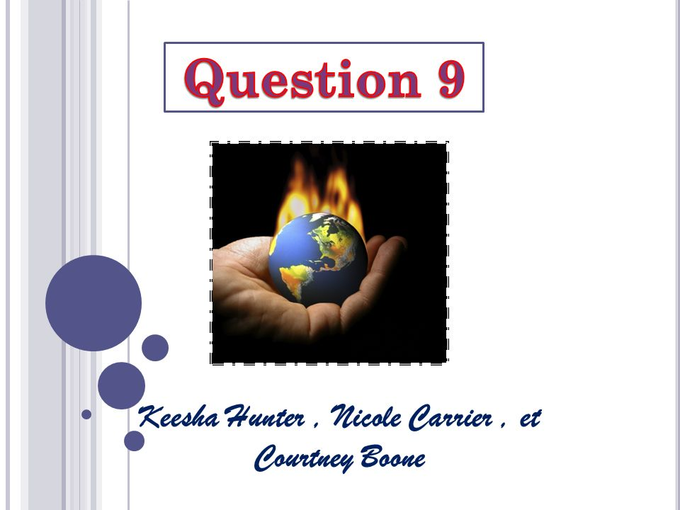 1) Quelles précautions avez-vous pris au sein de votre école tout comme au niveau national pour lutter contre les changements climatiques?