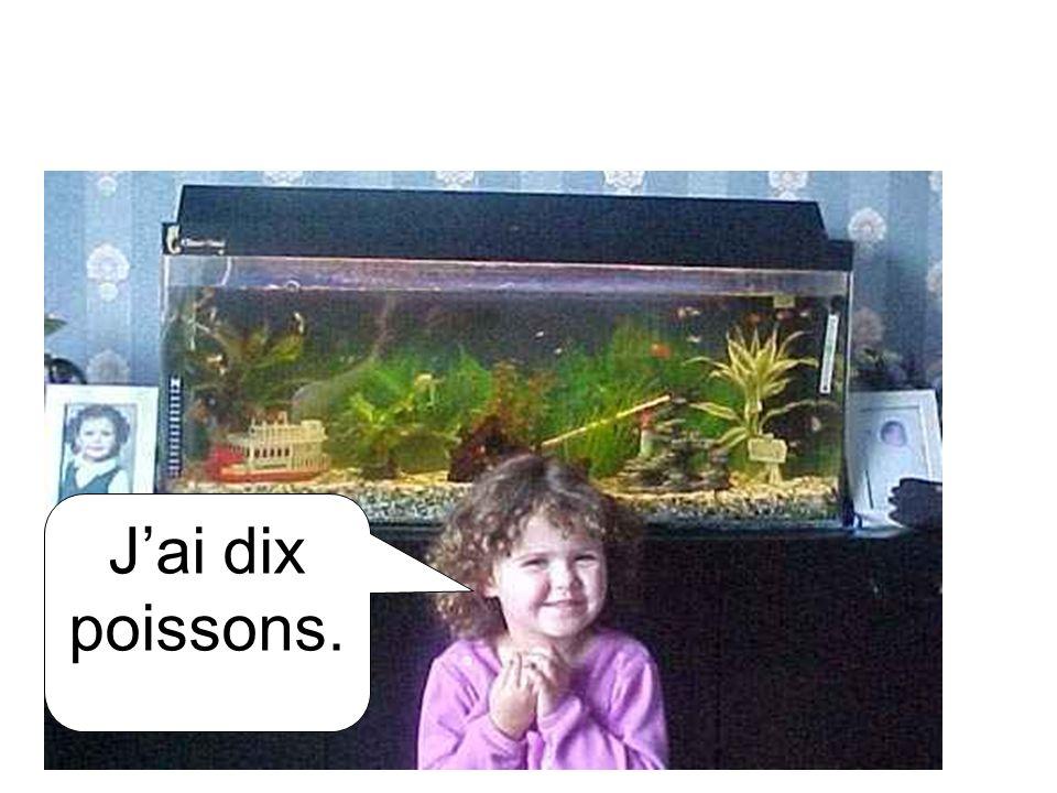 Jai dix poissons.