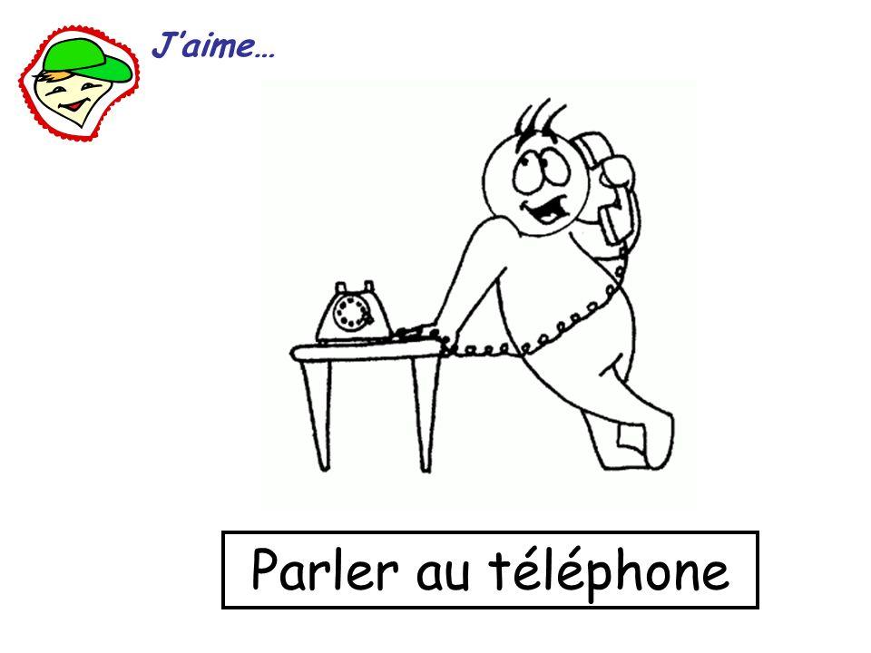 Parler au téléphone Jaime…