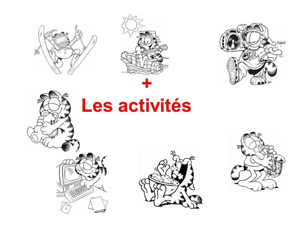 + Les activités