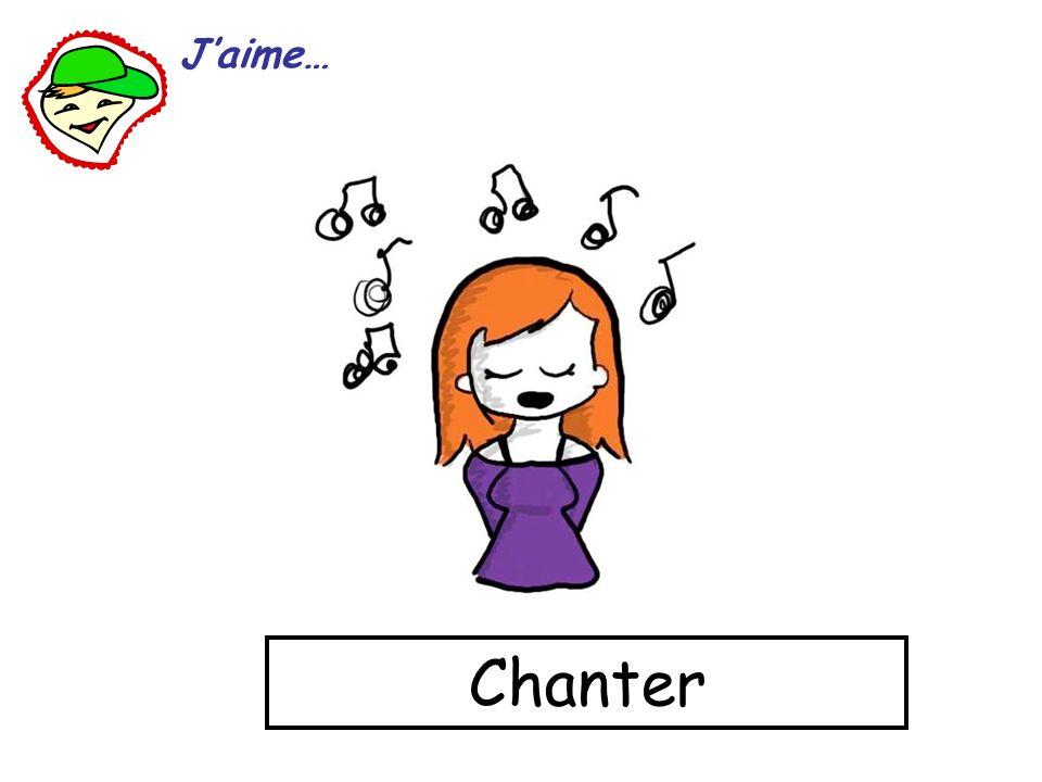 Chanter Jaime…