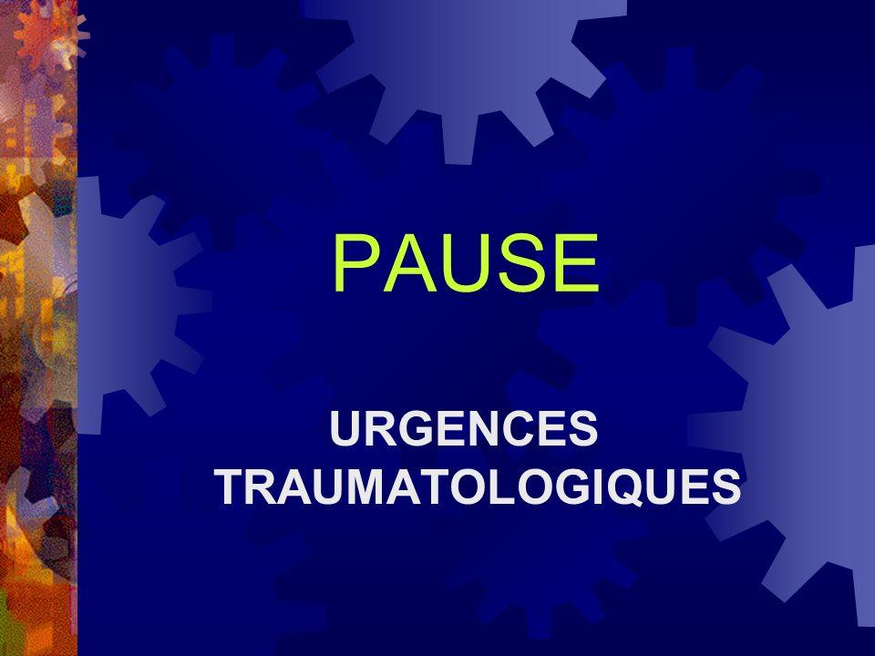PAUSE URGENCES TRAUMATOLOGIQUES