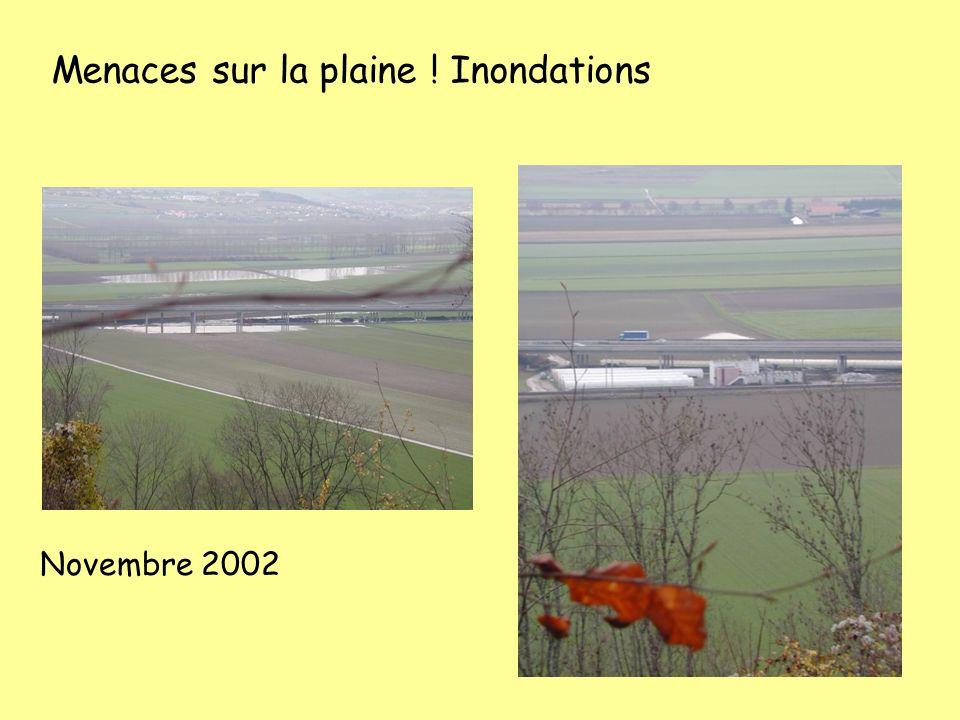 Menaces sur la plaine ! Inondations Novembre 2002
