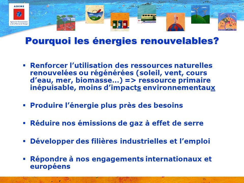 Les énergies renouvelables : objectif + 135 % .