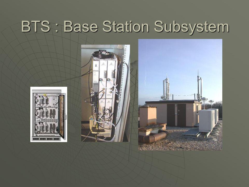 BTS : Base Station Subsystem