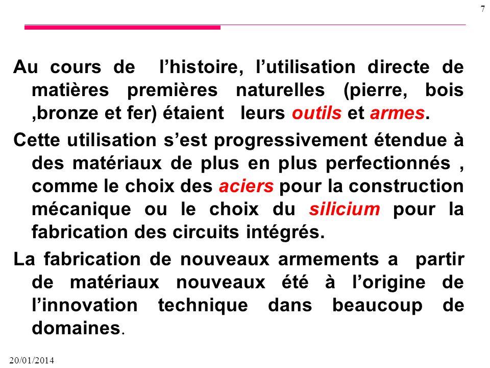 20/01/2014 87 Forme des éprouvettes Des normes décrivent les différentes éprouvettes préfissurées destinées aux essais de corrosion sous contrainte à charge constante ou à déformation constante.