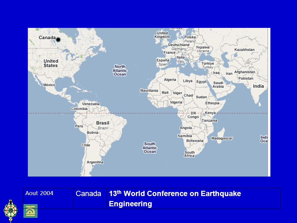 Aout 2004 Canada13 th World Conference on Earthquake Engineering