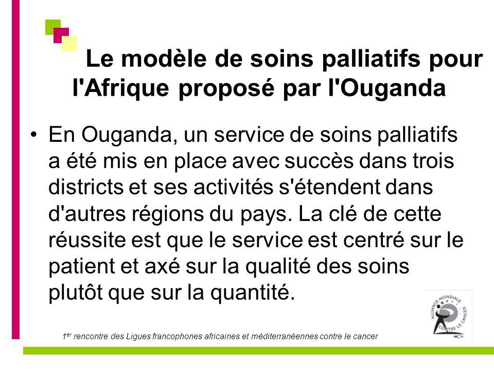 1 er rencontre des Ligues francophones africaines et méditerranéennes contre le cancer LE TRAVAIL en équipe pluridisciplinaire Toujours mentionné comme un objectif à atteindre, il ne pourra exister que si une organisation se fait à partir, aussi, de la hiérarchie .